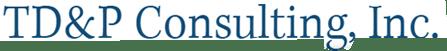 TD&P Consulting, Inc Logo